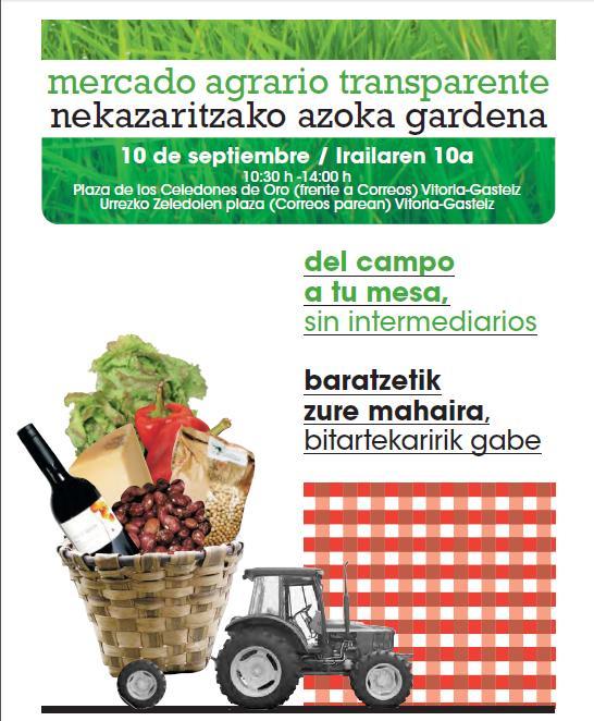 XIV Mercado Agrario Transparente