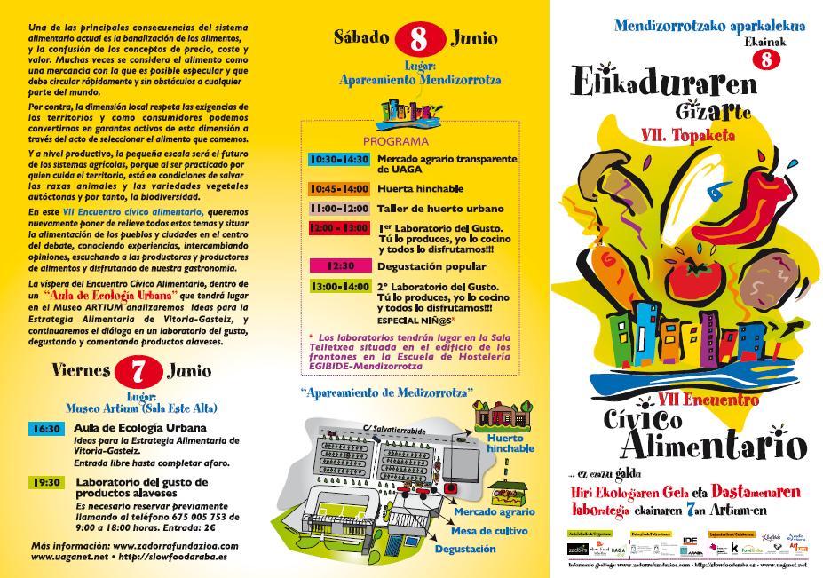 VII Encuentro Cívico Alimentario