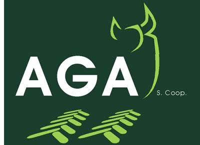 Logotipo de la sociedad coperativa de AGA